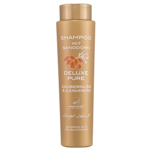 Shampoo mit Sanddorn, Deluxe Pure, Zaubernuss und Cashmere, 350 ml, B-Ware