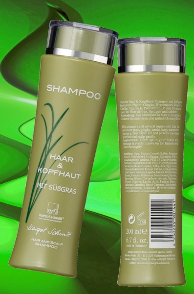 Shampoo Sensibler Kopf & Feines Haar, 200ml, B-Ware aus Retouren
